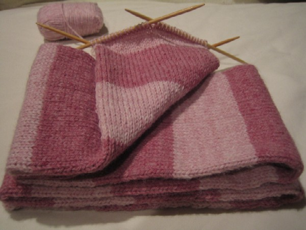 Knitting Epiphany Stripes